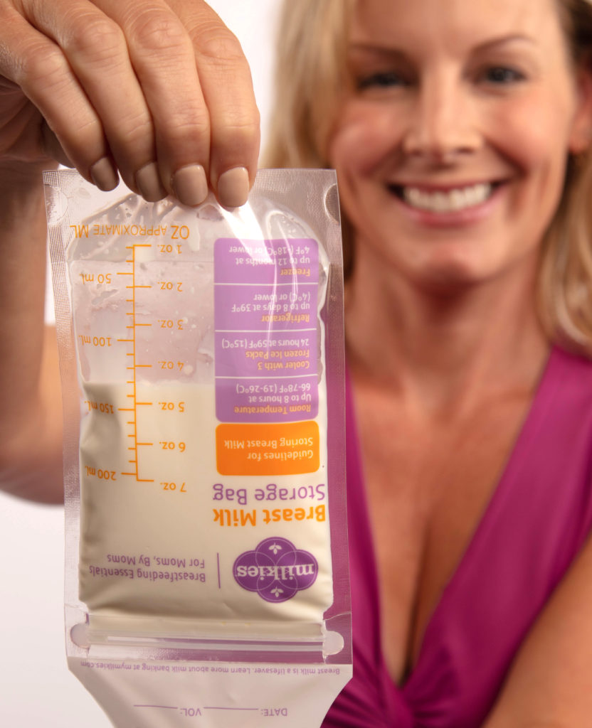 Breast Milk Storage Bag Demo
